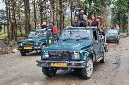 Corbett Safari booking, Jim Corbett Online Jeep Safari Booking