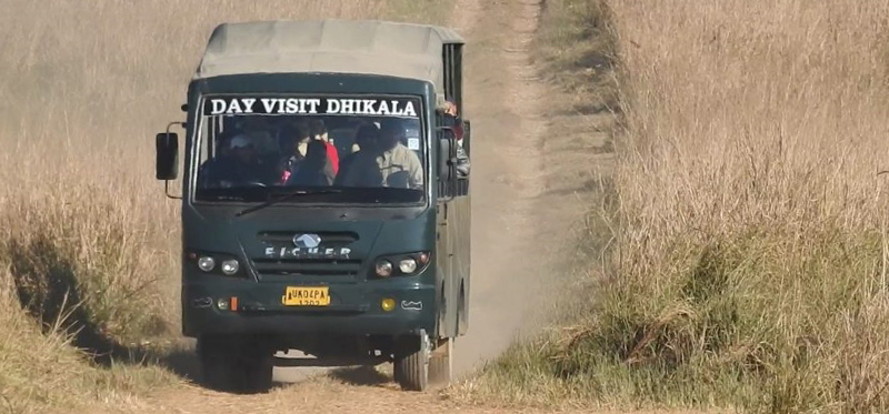 canter safari jim corbett, Dhikala canter safari corbett