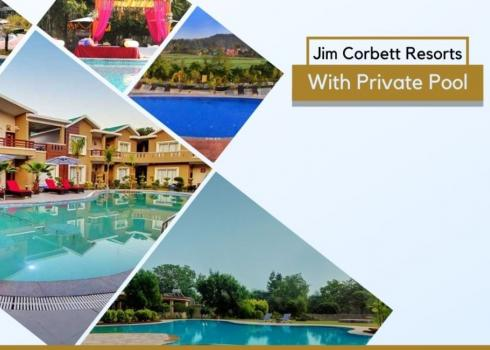 Jim Corbett Resorts With Private Pool