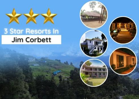 3 Star Resorts in Jim Corbett National Park