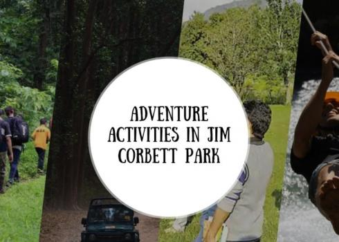 Adventure Activities in Jim Corbett