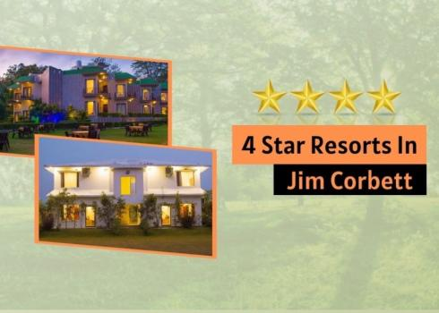 4 star resorts in Jim Corbett