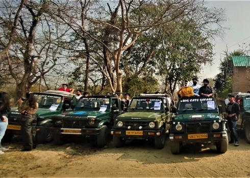 Women Gypsy Drivers At Jim Corbett National Park
