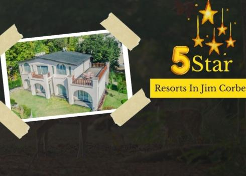 5 star resorts in Jim Corbett
