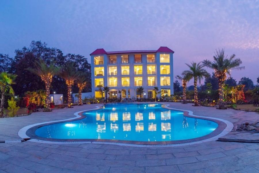 The Darien Resort Pool View